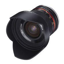 Samyang 12mm F2.0 NCS CS Lens Black - Micro Four Thirds Fit