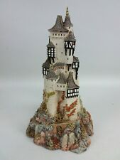 "Lilliput Lane Land Of Legend Castle Of The Ransomed King 8-1/2"" Tall"