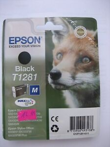 ORIGINAL T1281 EPSON  Epson Stylus Office BX305F  BX305FW OEM Genuine MHD 2022