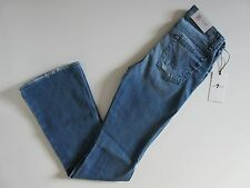 NWT 7 For All Mankind 'A' Pocket in Red Cast Heritage Stretch Flare Jean 25 x 33