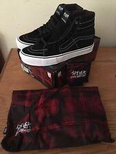 "Vans 2013 Wade Speyer Sk8 Hi '91 Of ""S"" Syndicate Black Size 9 New"