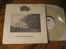 OLD FUNERAL grim reaping norway ORIG CLEAR VINYL LP mayhem immortal