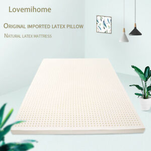 Natural Latex Soft Comfortable Mattress Topper Unique Healthy Sleep Breathable