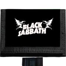 Black Sabbath BLACK TRIFOLD NYLON WALLET Great Gift Idea