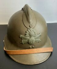 More details for ww2 french army adrian helmet - near mint example