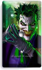 THE JOKER BATMAN COMICS LIGHT DIMMER CABLE WALL PLATE COVER BOYS ROOM HOME DECOR