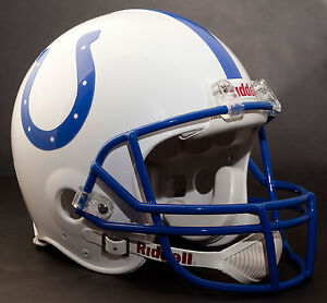 MARVIN HARRISON INDIANAPOLIS COLTS Schutt OPO Football Helmet FACEMASK