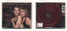 Cd BARBRA STREISAND CELINE DION Tell Him NUOVO Cds single singolo 3 tracks