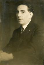 Louis Renault Vintage silver print,Louis Renault, né le 12 février 1877 dans l