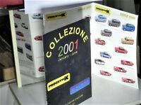 CATALOGUE PROJETTO K 1/43 2001/1: FIAT LANCIA, ALFA, ITALIAN VANS & SPORTS CARS