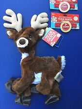 Build a Bear 2015 Santa's Reindeer Dark Brown Plush Toy - Unstuffed - New