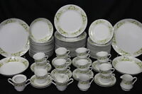 87 Pc Set Service for 16 Wellin China GLENDALE #5756 + Serving Pc's, Japan (130)
