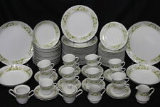 Service for 16 Wellin China GLENDALE #5756 - 87 Pc Set + Serving Dishes, Japan