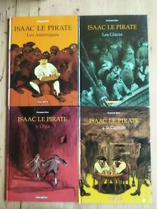 Isaac The Pirate By Blain Fish Pilot Tomes 1 To 4 3 & 4 IN Eo