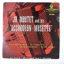 45rpm JO MOUTET & HIS ACCORDEON MUSETTE dep 95009