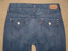 Levi's 526 Size 2 M Slender Boot Cut Womens Stretch Medium Blue Denim Jeans