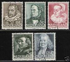 Nederland Netherlands 305-309  zomerzegels 1938 gestempeld-used