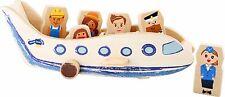Internazionale in legno piano CAPITANO in legno giocattolo finta Play convincerci aereo