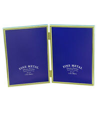 """Double Gold Photo Picture Frame 3.5x5"""", 4x6"""", 5x7"""" & 6x8"""" - Brass Plated"""