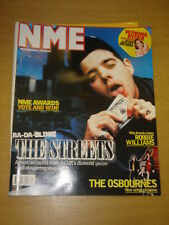 NME 2002 DEC 7 THE STREETS ROBBIE WILLIAMS OSBOURNES