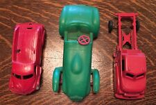 3 Vintage Toy Vehicles Cars & Trucks Plastic & Metal. Check The Pictures!