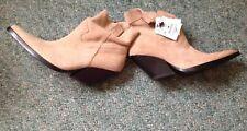Zara Beige Cowboy Boots Size 6/7(one Is Size 6 One Is Size 7)