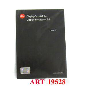Leica Displayschutzfolie für Leica CL ART 19 528 * Fotofachhändler *
