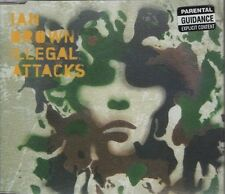 IAN BROWN feat SINEAD O'CONNOR Illegal attacks  2 TRACK CD NEW - NOT SEALED