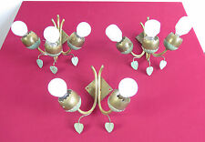 1950's nr. 03 Italian vintage brass Appliques Arredoluce Stilnovo style