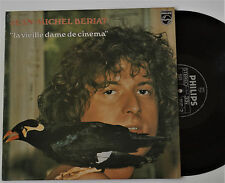 LP Jean Michel Beriat ~ LA VIEILLE DAME DE CINEMA ~ Philips 9101081 France 1976
