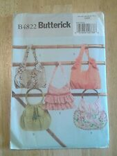 Butterick pattern B4822 one size bag, purses, totes