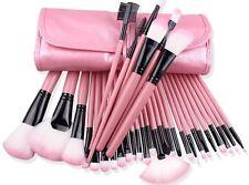 32Pcs Make-up Pinsel Set Powder Foundation Lidschatten Erröten Kosmetik Pinsel