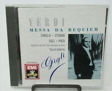 MARIA CANIGLIA - VERDI: MESSA DA REQUIEM MUSIC CD, TULLIO SERAFIN, EMI RECORDS