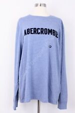 Abercrombie & Fitch Men's Long Sleeve Graphic Tee T Shirt Size XXL NWT