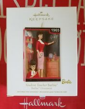 HALLMARK 2012 STUDENT TEACHER BARBIE NIB