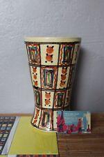 Vase diabolo Poterie d'Annecy Régionalisme Savoie Céramique Design 1950-70
