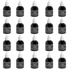 50 x Sugarflair BLACK Edible Food Colouring Liquid for Airbrush Cake Decorating