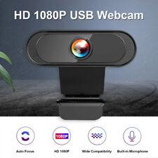 USB2.0 Webcam Kamera 1080P HD Camera Mit Mikrofon für Desktop Laptop PC Computer