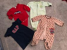 EUC LOT 4 Items Of Baby Boy Clothes BabyGap & Carters Size 3 Months