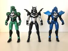 Power Rangers Jungle Fury Black Bat Blue Shark Green Elephant, not Lightning