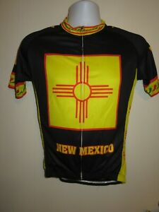NEW MEXICO State Champion Land of Enchantment Cycling Short Sleeve Jersey Small