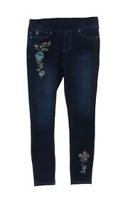 Belle Kim Gravel Flexibelle Floral Leggings Pet Dark Indigo 4P # A310212
