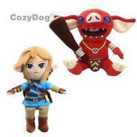 The Legend of Zelda Link & Bokoblin Plush Soft Toy Stuffed Doll Teddy Kids Gift