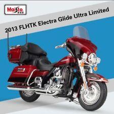 1:18 Maisto Harley Davidson 2013 FLHTK Electra Glide Bike Motorcycle Red New