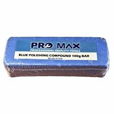 Aluminium Alloy Brass 100g Metal Polishing Buffing Compound Blue - Pro-Max