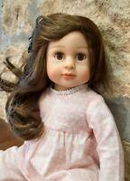"AMERICAN GIRL/OUR GENERATION 18"" Dolls Clothes *Handmade* Soft Cotton Pyjamas"