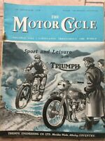 The Motor Cycle Magazine - 28 September 1950 - Ariel, DMW, Matchless & AJS 1951