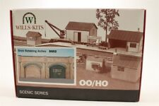 WILLS OO SCENIC SERIES SS52 BRICK RETAINING ARCHES WSS52