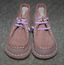Livie & Luca Boys Blush Beige Suede Bailey Boots Shoes - Size 6 - NEW NO BOX