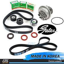 Gates HTD Timing Belt Kit & V-Belt w/ Water Pump 04-08 Suzuki Forenza Reno 2.0L
